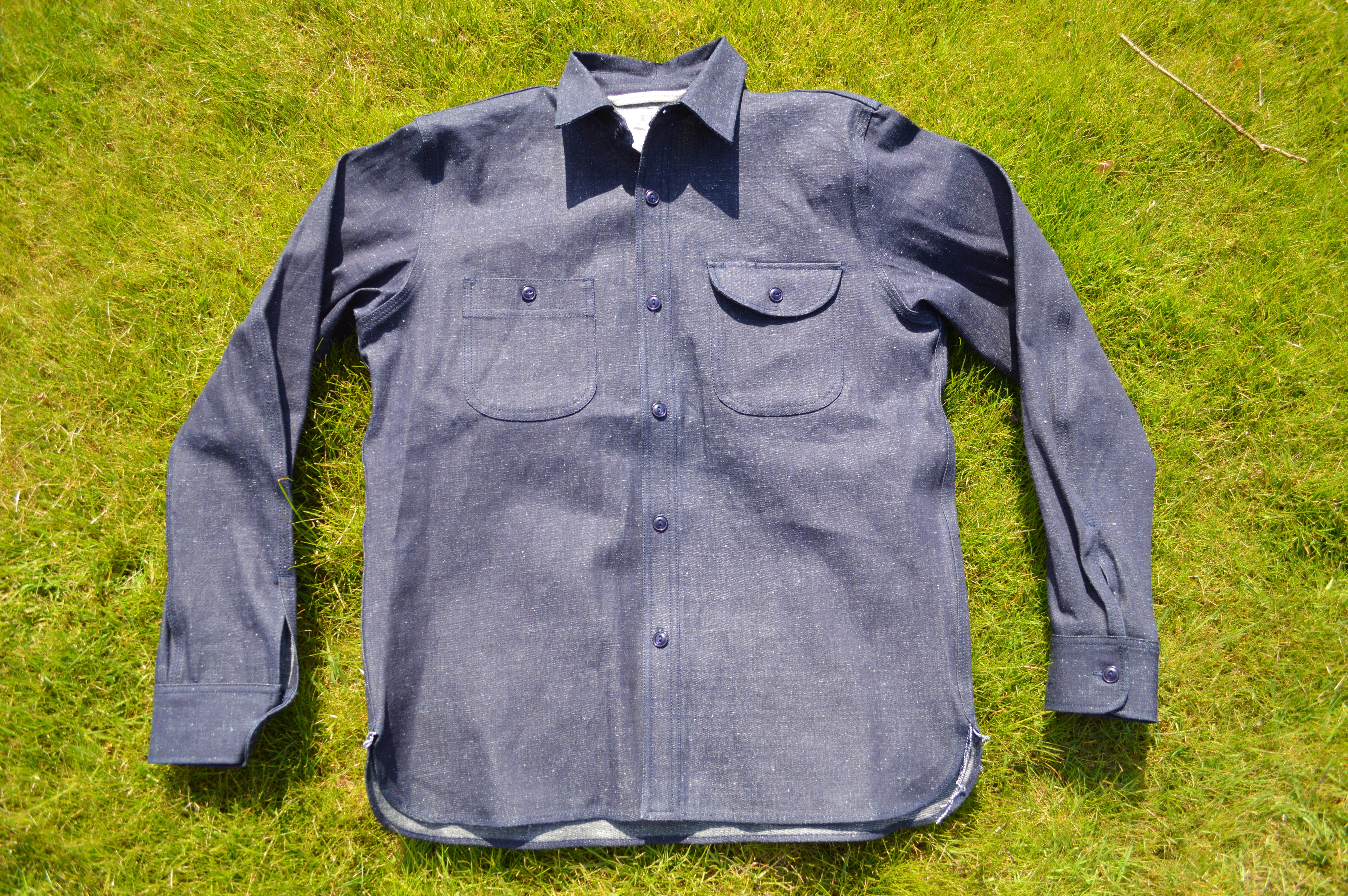 fb87d56bda Raw Denim Work Shirts - BCD Tofu House
